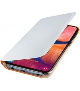 """Originalus baltas atverčiamas dėklas """"Flip Wallet"""" Samsung Galaxy A20E telefonui """"EF-WA202PWEGWW"""""""