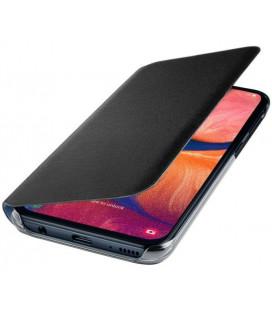 """Originalus juodas atverčiamas dėklas """"Flip Wallet"""" Samsung Galaxy A20E telefonui """"EF-WA202PBEGWW"""""""