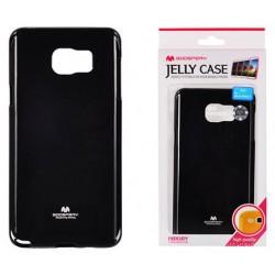 """Juodas dėklas Mercury Goospery """"Jelly Case"""" Samsung Galaxy Note 5 N920 telefonui"""
