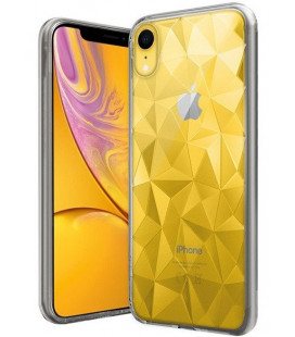 "Skaidrus dėklas Apple iPhone XR telefonui ""Diamond Case"""