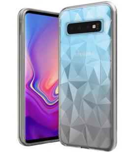 """Skaidrus dėklas Samsung Galaxy S10 telefonui """"Diamond Case"""""""