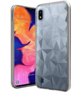 """Skaidrus dėklas Samsung Galaxy A10 telefonui """"Diamond Case"""""""