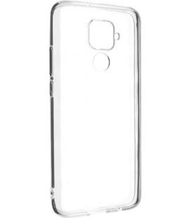 Skaidrus plonas 0,3mm silikoninis dėklas Huawei Mate 30 Lite telefonui