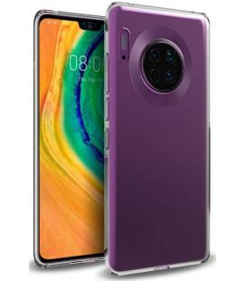 Skaidrus plonas 0,3mm silikoninis dėklas Huawei Mate 30 telefonui