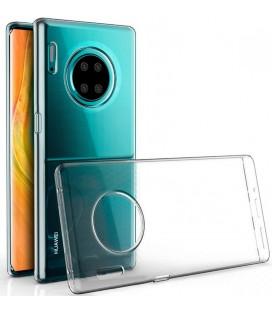 Skaidrus plonas 0,3mm silikoninis dėklas Huawei Mate 30 Pro telefonui