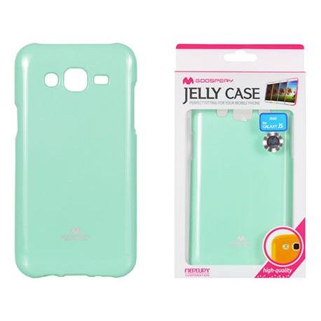 """Mėtos spalvos dėklas Mercury Goospery """"Jelly Case"""" Samsung Galaxy J5 telefonui"""