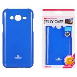 "Mėlynas dėklas Mercury Goospery ""Jelly Case"" Samsung Galaxy J5 telefonui"