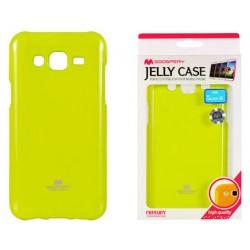 """Žalias dėklas Mercury Goospery """"Jelly Case"""" Samsung Galaxy J5 telefonui"""