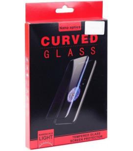 """Lenktas apsauginis grūdintas stiklas Samsung Galaxy S10 Plus telefonui """"Nano Optics"""""""
