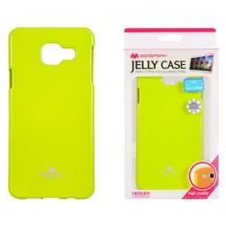 """Žalias dėklas Mercury Goospery """"Jelly Case"""" Samsung Galaxy A3 2016 (6) A310 telefonui"""