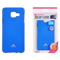 """Mėlynas dėklas Mercury Goospery """"Jelly Case"""" Samsung Galaxy A3 2016 (6) A310 telefonui"""