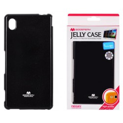 "Juodas dėklas Mercury Goospery ""Jelly Case"" Sony Xperia M4 Aqua telefonui"
