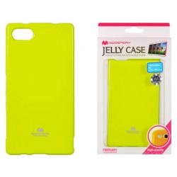"""Žalias dėklas Mercury Goospery """"Jelly Case"""" Sony Xperia Z5 Compact telefonui"""