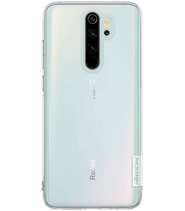"""Skaidrus silikoninis dėklas Xiaomi Redmi Note 8 Pro telefonui """"Nillkin Nature"""""""
