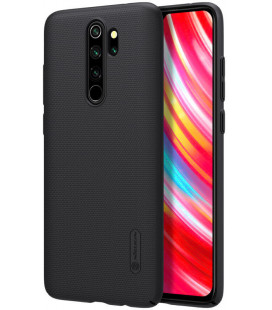 "Juodas dėklas Xiaomi Redmi Note 8 Pro telefonui ""Nillkin Frosted Shield"""