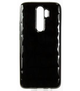 """Juodas dėklas Xiaomi Redmi Note 8 Pro telefonui """"Diamond Case"""""""