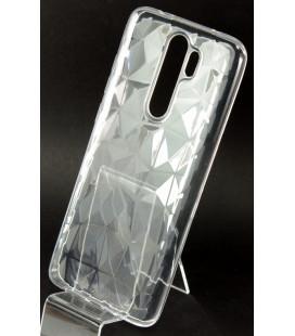 """Skaidrus dėklas Xiaomi Redmi Note 8 Pro telefonui """"Diamond Case"""""""