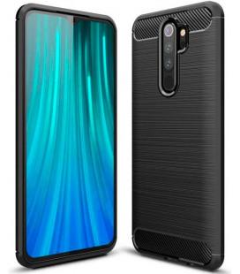 """Juodas dėklas Xiaomi Redmi Note 8 Pro telefonui """"Tech-Protect"""""""