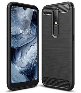 """Juodas dėklas Nokia 4.2 telefonui """"Tech-Protect"""""""