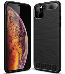 "Juodas dėklas Apple iPhone 11 Pro Max telefonui ""Tech-Protect"""