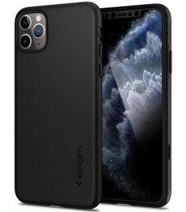 "Juodas dėklas Apple iPhone 11 Pro Max telefonui ""Spigen Thin Fit 360"""