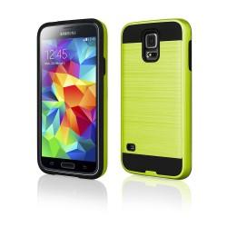 """Žalias dėklas Samsung Galaxy S5 G900 telefonui """"Motomo"""""""