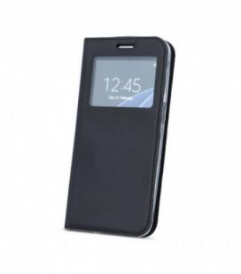 Dėklas Smart Look Samsung G920 S6 juodas