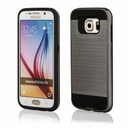 """Pilkas dėklas Samsung Galaxy S6 G920 telefonui """"Motomo"""""""