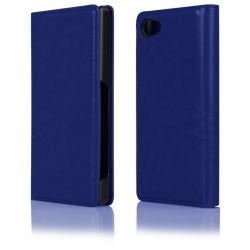 """Mėlynas atverčiamas dėklas Sony Xperia Z5 Compact telefonui """"Proskin"""""""