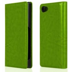 """Žalias atverčiamas dėklas Sony Xperia Z5 Compact telefonui """"Proskin"""""""