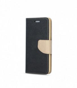 Dėklas Smart Fancy Samsung A405 A40 juodas/auksinis
