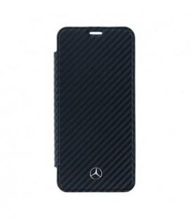 Dėklas Mercedes MEFLBKS9CFBK Samsung G960 S9 juodas