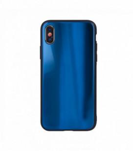 Dėklas Aurora Samsung A105 A10 tamsiai mėlynas