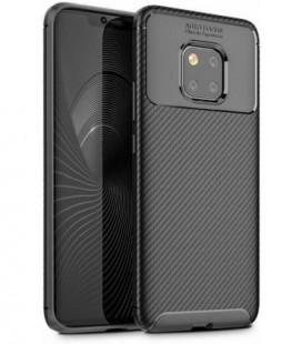 Dėklas Carbon Focus Samsung A805 A80 juodas