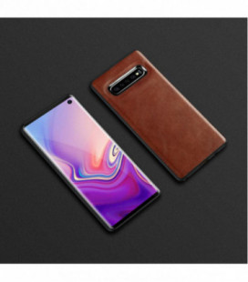 Dėklas Business Case juodas Huawei P Smart Z rudas