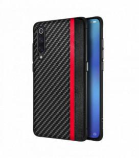 Dėklas Mulsae Carbon Apple iPhone XR juodas