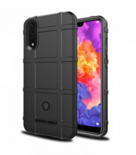 Dėklas Rugged Shield Xiaomi Redmi Note 8 Pro juodas