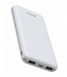 Išorinė baterija Power Bank Devia Guardian 10000mAh baltas
