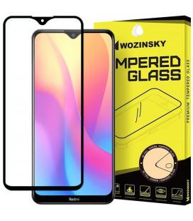 """Juodas apsauginis grūdintas stiklas Xiaomi Redmi 8A telefonui """"Wozinsky Full Glue CF"""""""