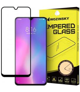 """Juodas apsauginis grūdintas stiklas Xiaomi Mi 9 Lite telefonui """"Wozinsky Full Glue CF"""""""