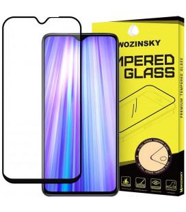 """Juodas apsauginis grūdintas stiklas Xiaomi Redmi Note 8 Pro telefonui """"Wozinsky Full Glue CF"""""""