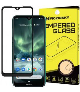 """Juodas apsauginis grūdintas stiklas Nokia 6.2 / 7.2 telefonui """"Wozinsky Full Glue CF"""""""