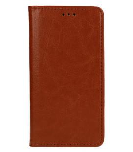 """Odinis rudas atverčiamas klasikinis dėklas Apple iPhone 11 Pro Max telefonui """"Book Special Case"""""""