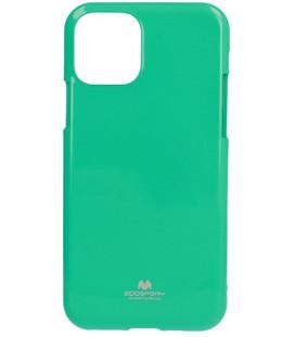 """Mėtos spalvos silikoninis dėklas Apple iPhone 11 telefonui """"Mercury Goospery Pearl Jelly Case"""""""