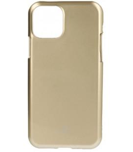 """Auksinės spalvos silikoninis dėklas Apple iPhone 11 telefonui """"Mercury Goospery Pearl Jelly Case"""""""