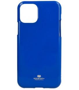 "Mėlynas silikoninis dėklas Apple iPhone 11 Pro Max telefonui ""Mercury Goospery Pearl Jelly Case"""