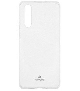 """Skaidrus silikoninis dėklas Huawei P30 telefonui """"Mercury Goospery Pearl Jelly Case"""""""