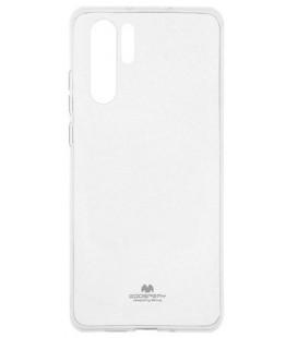 """Skaidrus silikoninis dėklas Huawei P30 Pro telefonui """"Mercury Goospery Pearl Jelly Case"""""""