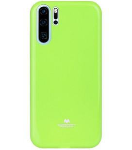 """Žalias silikoninis dėklas Huawei P30 Pro telefonui """"Mercury Goospery Pearl Jelly Case"""""""