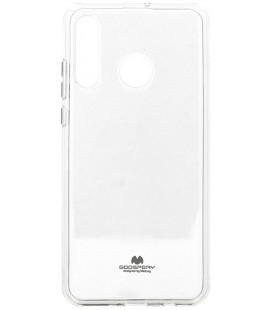 """Skaidrus silikoninis dėklas Huawei P30 Lite telefonui """"Mercury Goospery Pearl Jelly Case"""""""